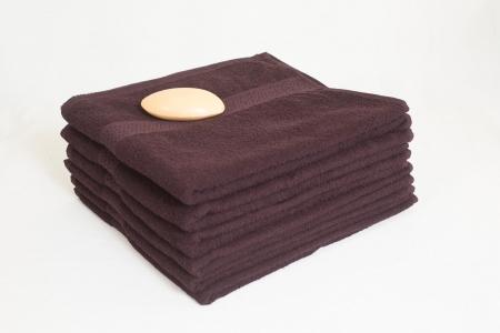 Махровое полотенце Узбекистан 360г/м2 темно-коричневое