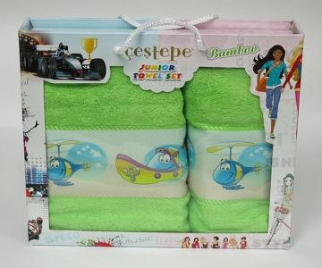 Набор полотенец из 2 штук ТМ Cestepe Bamboo Junior 11