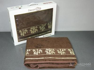 Простынь бамбуковая ТМ Havloom коричневая 200х220см