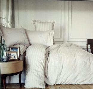 Постельное белье ТМ Karaca Home сатин Passero синий евро-размер