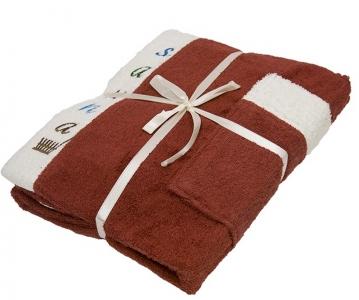 Набор ТМ Gursan для сауны мужской 3-х предметный коричневый