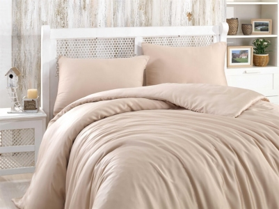 Постельное белье ТМ Hobby Bamboo Soft Капучино евро-размер
