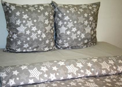 Постельное белье ТМ Nostra ранфорс 10-0399 Light Grey