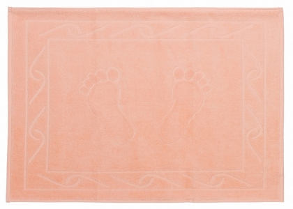 Полотенце для ног ТМ Hobby Hayal персиковое 50х70