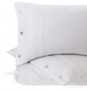 Льняное постельное белье ТМ Markus белое