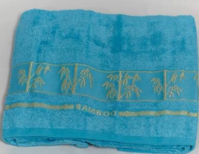Полотенце ТМ Arya бамбук Bonita бирюзовое 70Х140