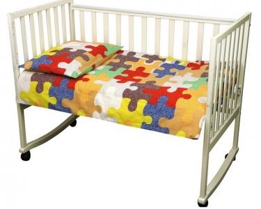 Детский постельный комплект ТМ Руно Пазлы 01