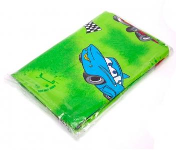 Детский постельный комплект ТМ Leleka-Textile ранфорс Тачки