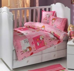 Детский постельный комплект ТМ Hobby City Girl розовый