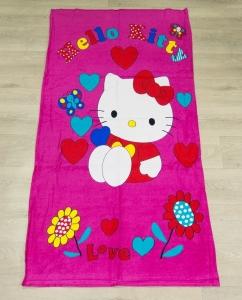 Полотенце велюровое пляжное Турция Kitty 75х150