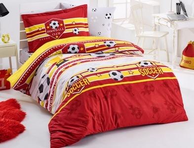 Подростковое постельное белье ТМ Clasy Forza красный
