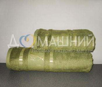 Полотенце ТМ Mariposa Bamboo Organic Gold тёмно-зелёный