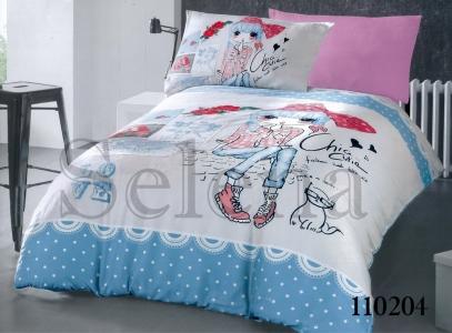 Подростковое постельное белье ТМ Selena бязь Модница