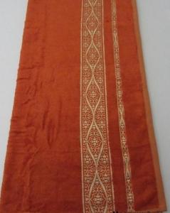 Полотенце ТМ Arya бамбук Kayra кирпичное 70х140