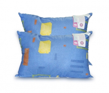 Подушка ТМ Leleka-Textile Фаворит с антиаллергенным волокном синяя