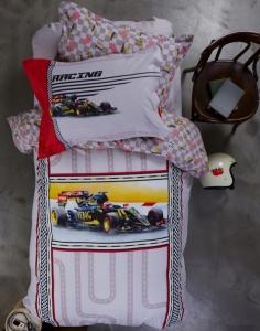 Подростковое постельное бельё ТМ Karaca Home Racing Red