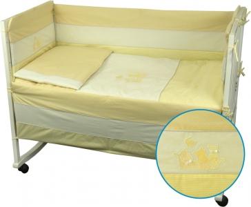 Детский постельный комплект ТМ Руно Котята желтый