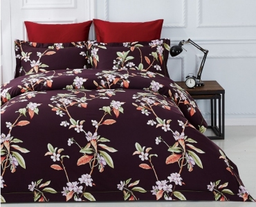 Постельное белье ТМ Arya сатин Fashionable Rosella евро-размер