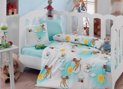 Детский постельный комплект ТМ Cotton Box ранфорс Bambis