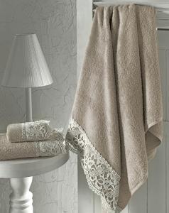 Набор полотенец из 2 штук Altinbasak Veronica beige