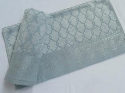 Полотенце махровое ТМ Arya Sahra голубое 50х100
