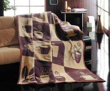 Плед-покрывало ТМ Lotus Coffee 150х200