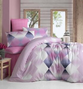 Постельное белье ТМ LightHouse бязь Petek розовый