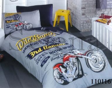 Подростковое постельное белье ТМ Selena бязь Мото 2