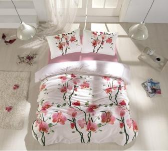 Постельное белье ТМ Altinbasak ранфорс Bloom евро-размер