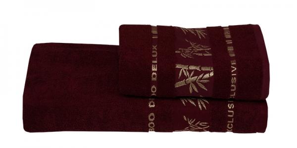 Полотенце ТМ Gursan Bamboo бордо