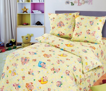 Детский постельный комплект ТМ ТOP Dreams Весёлые малыши