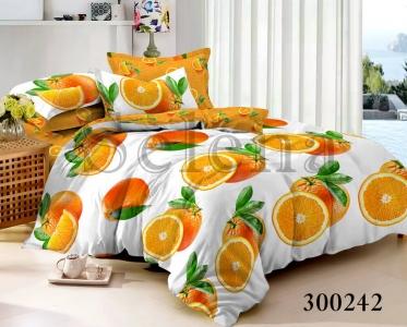 Постельное белье ТМ Selena сатин Orange 300242