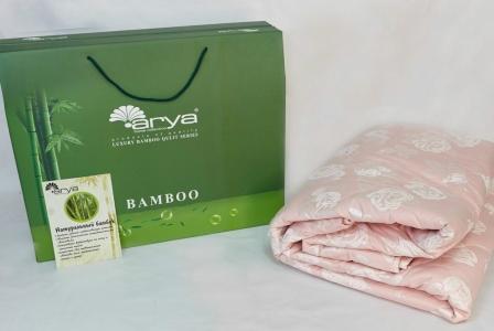 Одеяло бамбуковое зимнее ТМ Arya розовое 200Х220