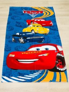 Полотенце велюровое пляжное Турция Cars 75х150 см