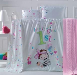 Детский постельный комплект ТМ Luoca Patisca Bambina