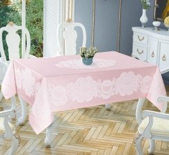 Скатерть ТМ Tropik home Royal Pink 5699-4 150х220