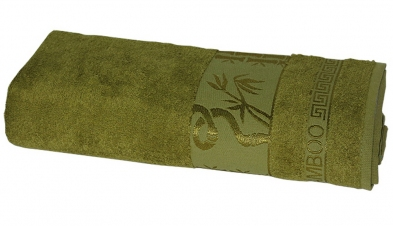 Полотенце ТМ Gursan Bamboo dark green