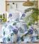 Постельное белье ТМ Karaca Home ранфорс Palm Yesil евро-размер