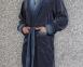 Халат велюровый ТМ Nusa синий мужской (NS 12710)