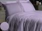 Постельное белье ТМ Novita сатин гладкокрашеный Lilac евро-размер