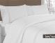 Постельное белье ТМ Altinbasak сатин люкс с кружевом евро-размер Lace beyaz