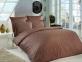 Постельное белье Mariposa De Luxe Tencel бамбук жаккард Brown полуторное
