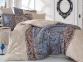 Постельное белье ТМ Hobby Exclusive Sateen Caterina бежевое евро-размер