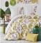 Постельное белье ТМ Karaca Home ранфорс Palava Fusya евро-размер