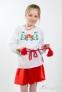 Вышиванка для девочки Ромашка 4005