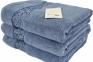Полотенце махровое ТМ Arya Jewel голубое
