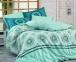 Постельное белье ТМ Hobby Poplin Silvana голубое евро-размер