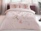 Постельное белье ТМ TAC сатин Martha Pink евро-размер
