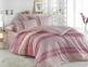 Постельное белье ТМ Hobby Poplin Emma розовый евро-размер