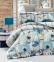 Постельное белье ТМ LightHouse бязь Vanesa бирюзовое евро-размер